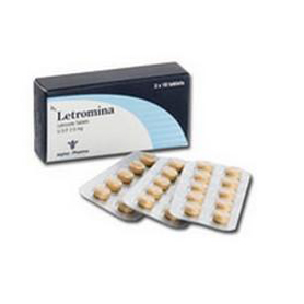 Letromina (Letrozole) [25 mg 50 tablets/box]