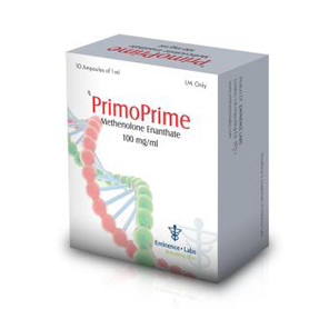 Primoprime (Methenolone Enanthate) [100mg 10 ampoules/box]