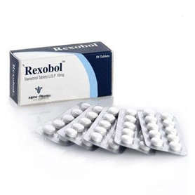Rexobol-10 (Stanozolol) [10mg 50 tablets/box]