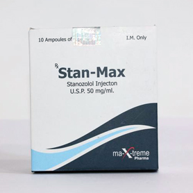 Stan-max (Injectable Stanozolol) [50mg 10 ampoules/box]