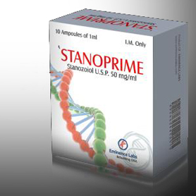 Stanoprime (Injectable Stanozolol) [50mg 10 ampoules/box]