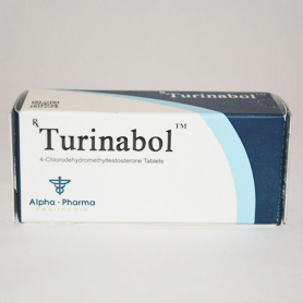 Turinabol [10 mg 50 tablets/box]