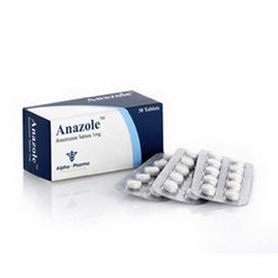 Anazole (Anastrozole) [1 mg 30 tablets/box]