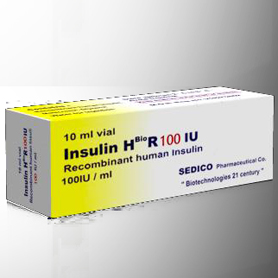 Insulin 100iu injection (Human Growth Hormone) [1 vial of 100iu]