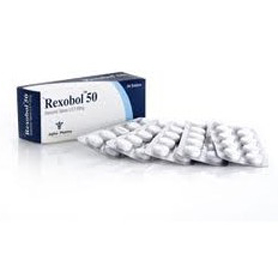 Rexobol-50 (Stanozolol) [50mg 50 tablets/box]